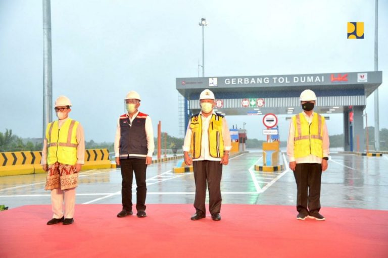 Resmi Beroperasi, Tol Pekanbaru-Dumai Diharap Tingkatkan Pertumbuhan Ekonomi Daerah