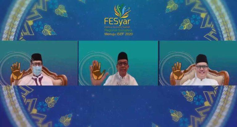 Gelaran FESyar Regional Sumatera 2020 di Padang Resmi Dibuka