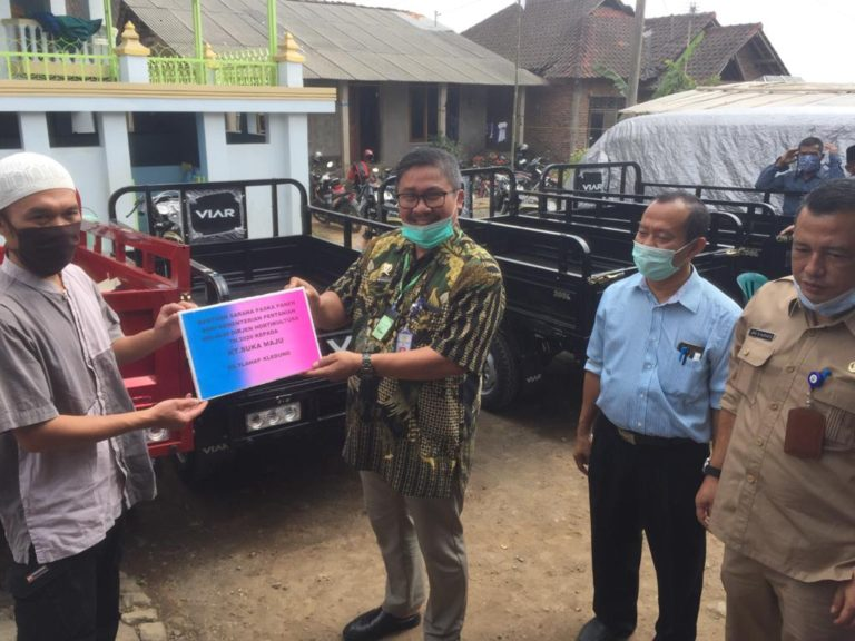 Percepatan Distribusi Hasil Panen, Kementan Beri Bantuan Motor ke Petani Temanggung