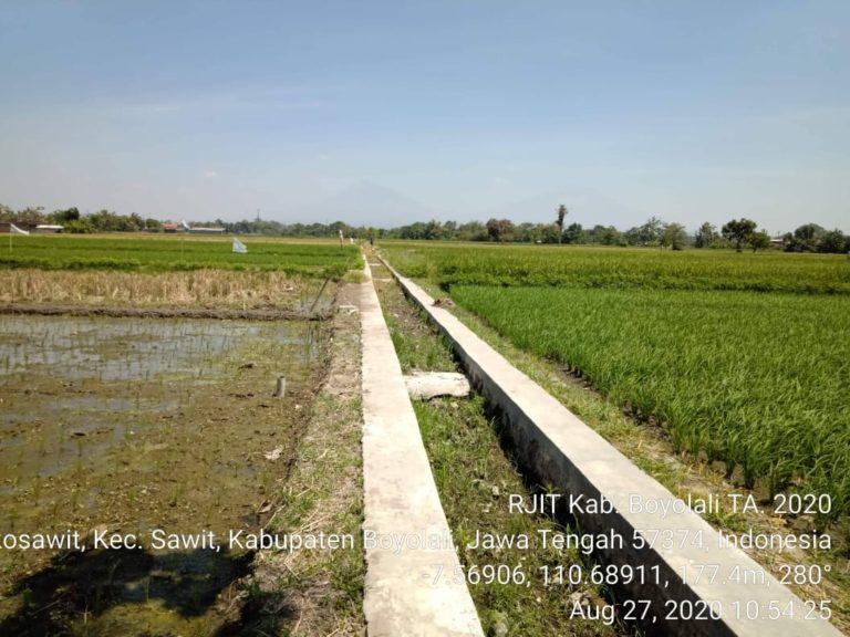 RJIT Ditjen PSP Tingkatkan IP dan Produktivitas Pertanian di Boyolali