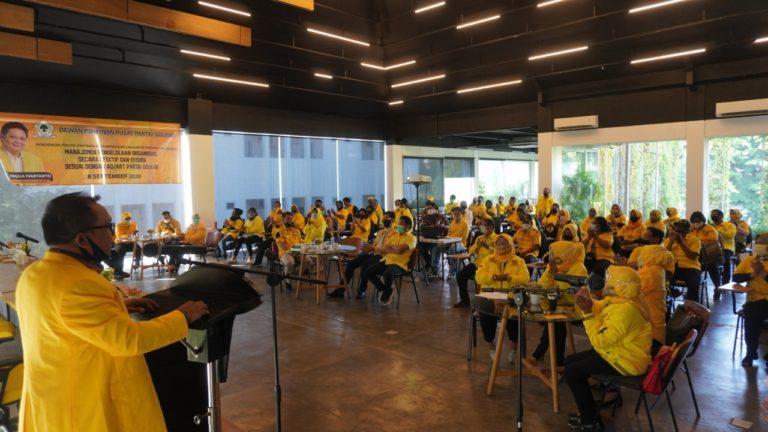 Pendidikan Politik, Upaya Golkar Jakarta Panaskan Mesin Partai