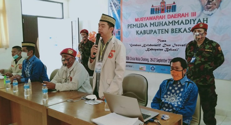 Pemuda Muhammadiyah Bekasi Gelar Musyda Saat Pandemi, Ini Hasilnya