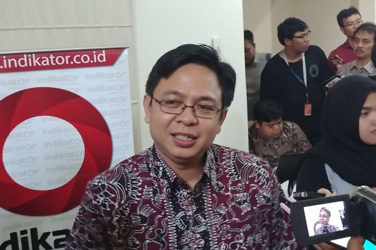 Survei Indikator: Mayoritas Responden Sebut Indonesia Kurang Demokratis