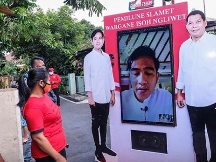Ditengah Pandemi, Begini Cara Putra Jokowi Lakukan Kampanye