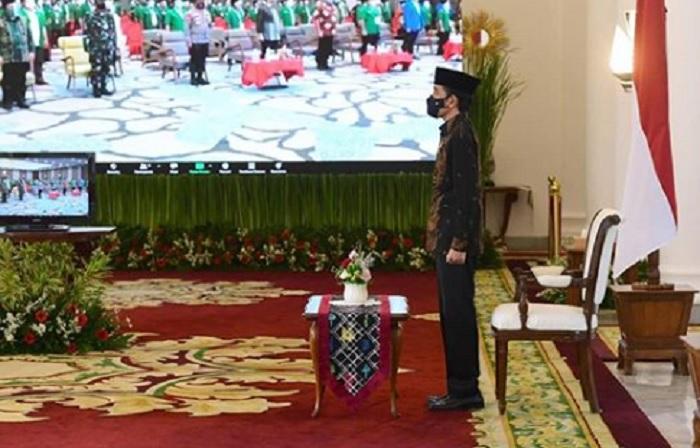 Jokowi Apresiasi Kiprah GP Ansor Warisi Semangat Ulama