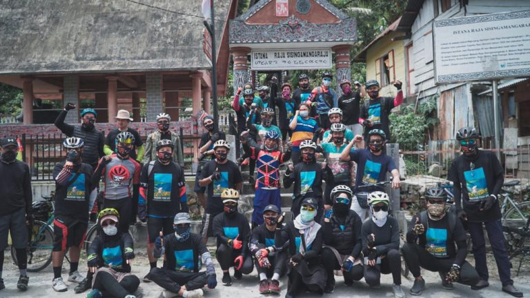 Geobike Kaldera Toba, Momentum Bangkitnya Industri Pariwisata di Era New Normal