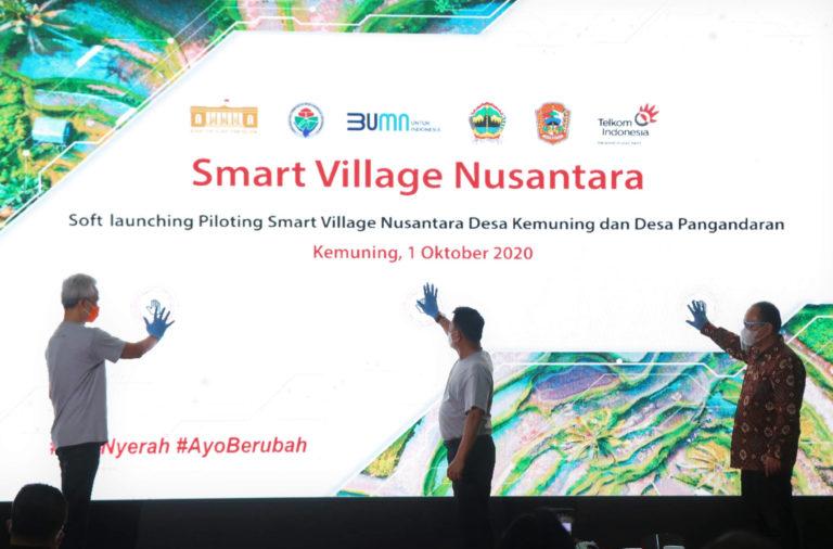 Dukung Perkembangan Ekonomi Desa, Telkom Hadirkan Smart Village Nusantara