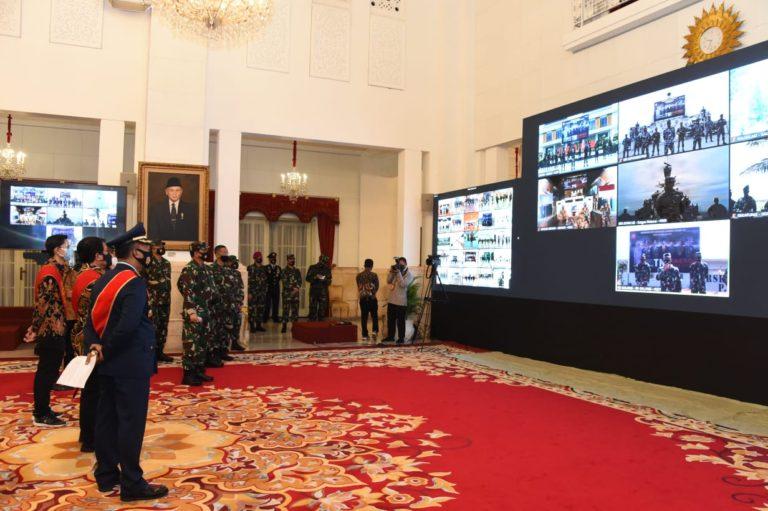 Digelar Virtual, Istana Jadi Pusat Komando HUT ke-75 TNI