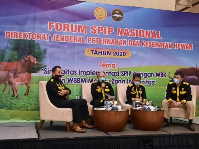 Ditjen PKH Beri Penghargaan kepada Satker Implementasi SPIP Terbaik