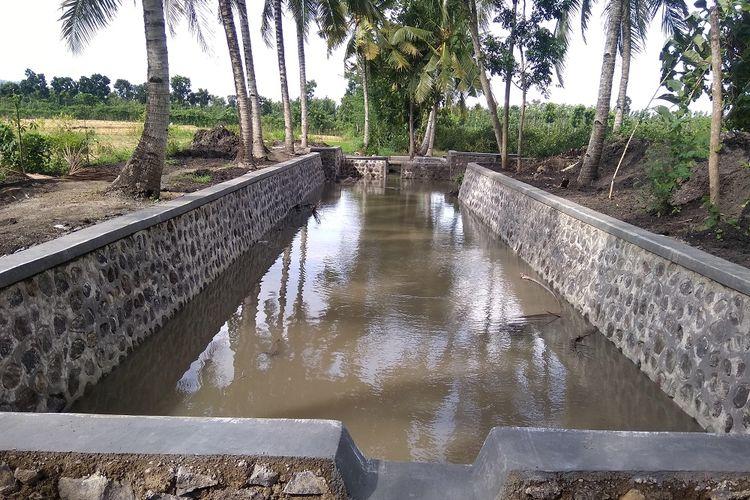 Pembangunan Embung Ditjen PSP Dukung Peternakan di Brebes