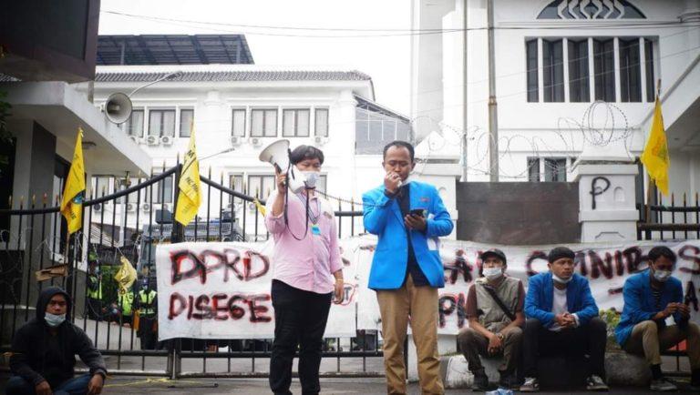 Soal UU Ciptaker, PMII Jabar Sebut Ridwan Kamil Tak Pro Rakyat