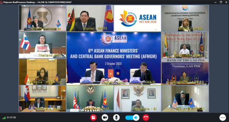 Bank Sentral ASEAN Perkuat Kerja Sama Hadapi Dampak Covid-19