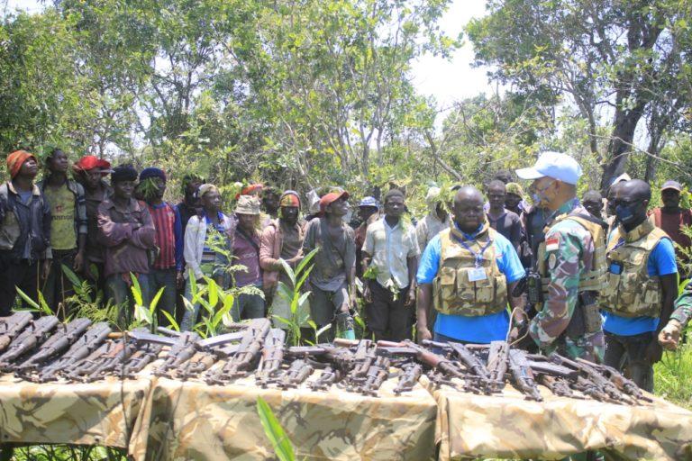 TNI Berhasil Bujuk 43 Milisi Kongo untuk Menyerah