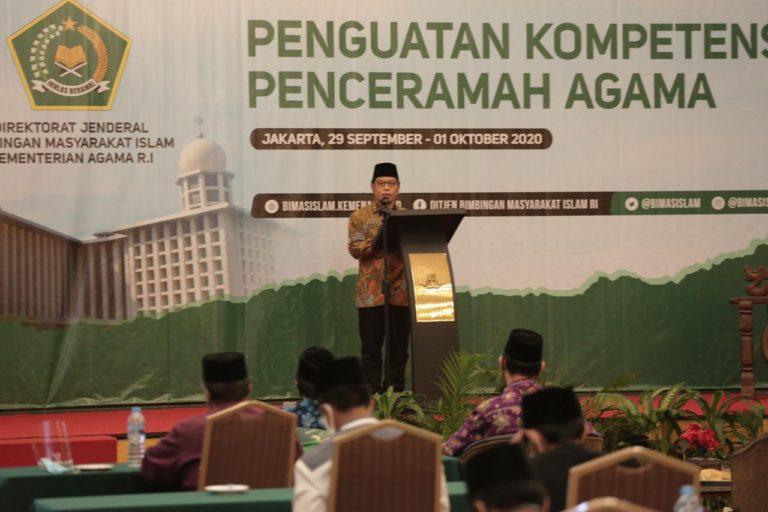 Kemenag Berharap Penceramah Mampu Tingkatkan Kualitas Masyarakat