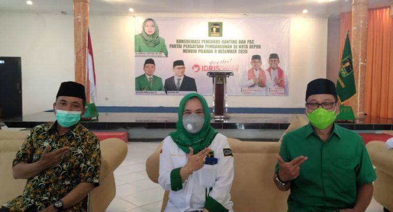 Menangkan Idris-IBH, PPP Depok Target Raih Suara Minimal 60 Persen