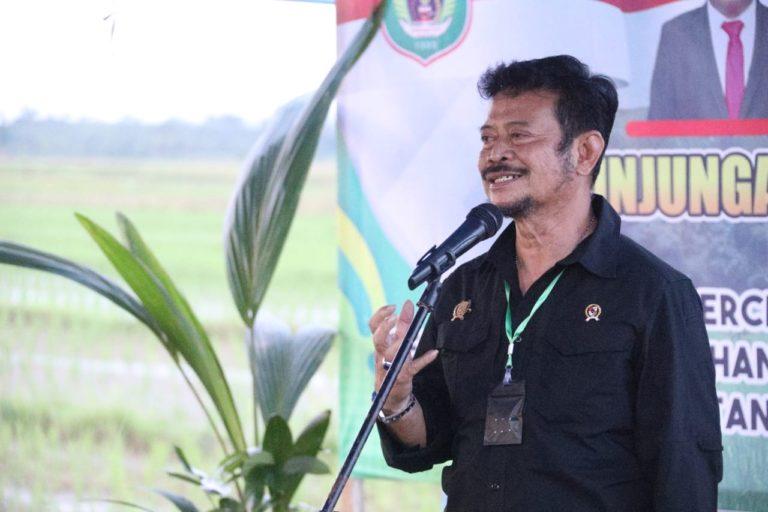 Gubernur Maluku Utara apresiasi kehadiran Mentan semangati Petani