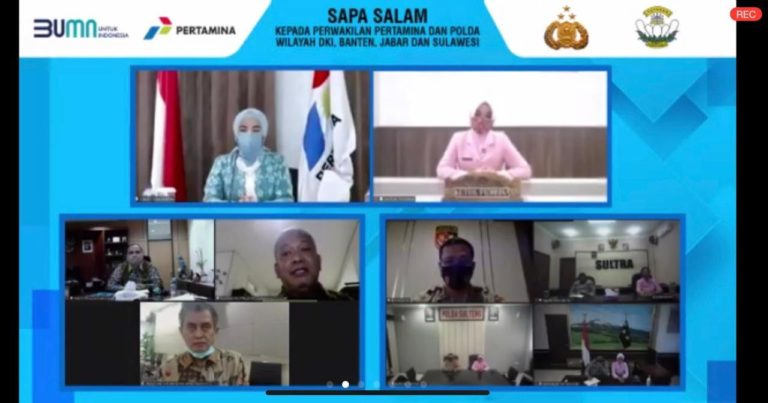Pertamina Sinergi Polri dan YKB Salurkan 542 Laptop ke 34 Provinsi