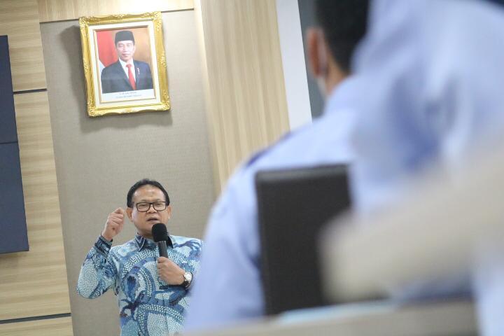 Badan Karantina Ikan KKP diminta Tingkatkan Kapasitas SDM seiring Perkembangan Teknologi