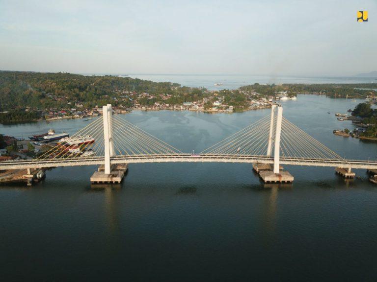 Kementerian PUPR Segera Tuntaskan Pembangunan Jembatan Teluk Kendari Sepanjang 1,34 Km