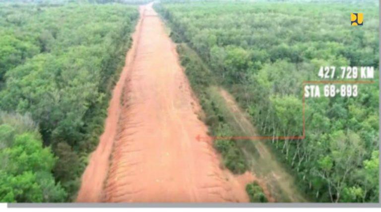 Pembangunan Ruas Tol Kramasan-Musi Landas-Betung 69 Km Dimulai
