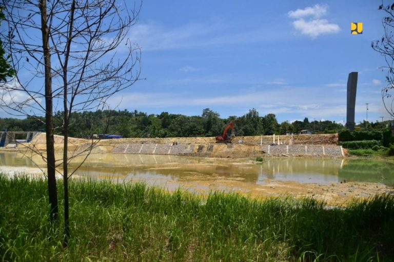 Kementerian PUPR Bangun Kolam Retensi Sungai Wanggu, Target Selesai November 2020