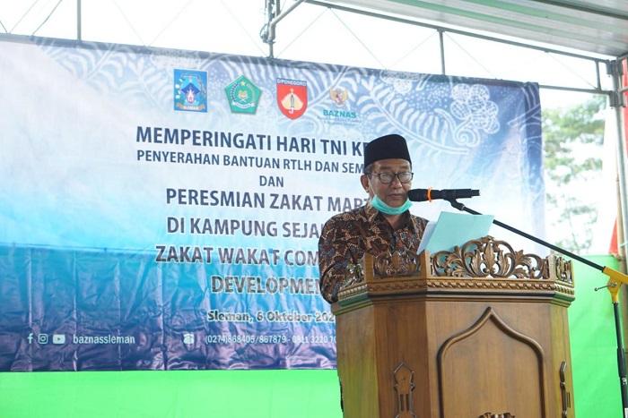 Kemenag Resmikan Kampung Zakat dan Wakaf di Yogyakarta