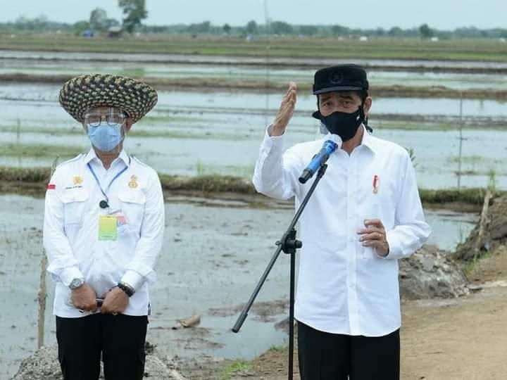 Kunjungi Food Estate Kalteng, Presiden Disuguhi Aneka Teknologi Balitbangtan