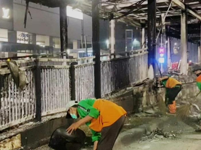 Belasan Halte Transjakarta Dirusak, Kerugian Ditaksir Capai Rp 45 Miliar