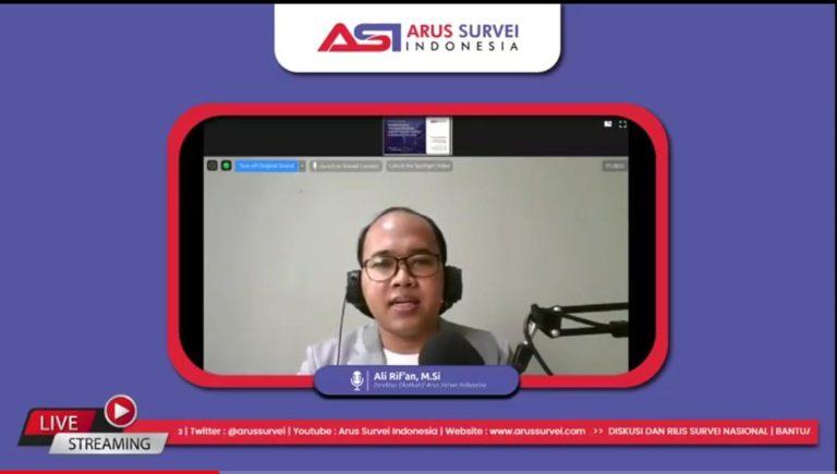 Arus Survei Indonesia; 63,3 Persen Publik Puas dengan Bantuan Kuota Internet
