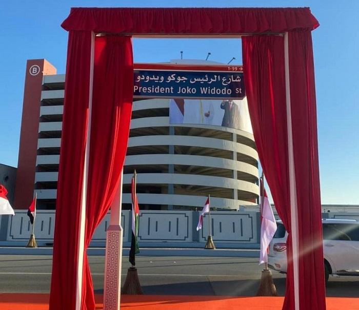 Keren! Nama Presiden Joko Widodo jadi Jalan Utama di Abu Dhabi