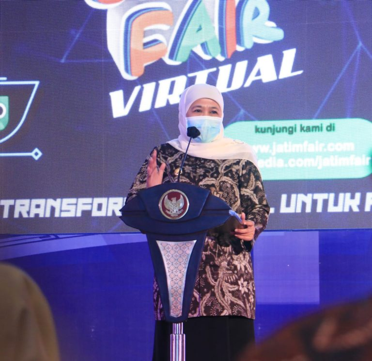 Jatim Fair Virtual Resmi Dibuka, Khofifah Dorong Transformasi Digital Pelaku UMKM
