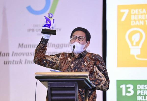 Kemendes PDTT Raih Penghargaan dari IPB, Gus Menteri: Saya Bangga