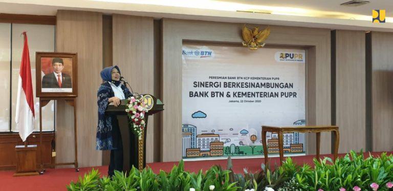 Kementerian PUPR Resmikan Kantor Cabang Bank BTN di Kampus PUPR