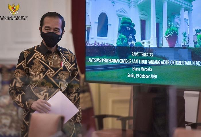 Jelang Libur Panjang, Jokowi: Waspadai Lonjakan Kasus Covid-19
