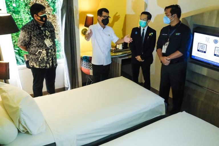 Kemenparekraf Siapkan Hotel untuk Isolasi Pasien Covid-19 di 3 Kota