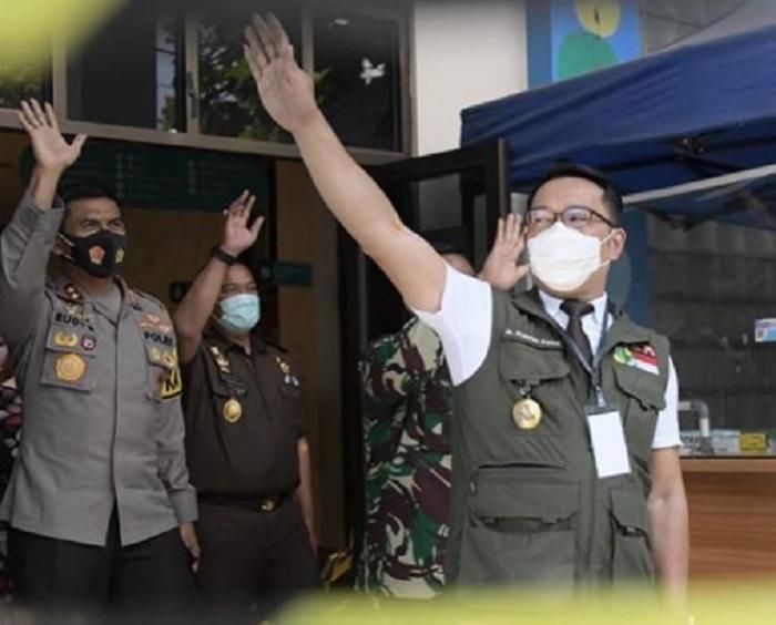 Kang Emil: Pemprov Jabar Dapat Hibah 1400 Tabung Oksigen