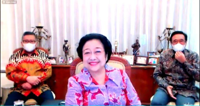 Megawati: Terima Kasih, Itu Anak-anak dari Partai Saya