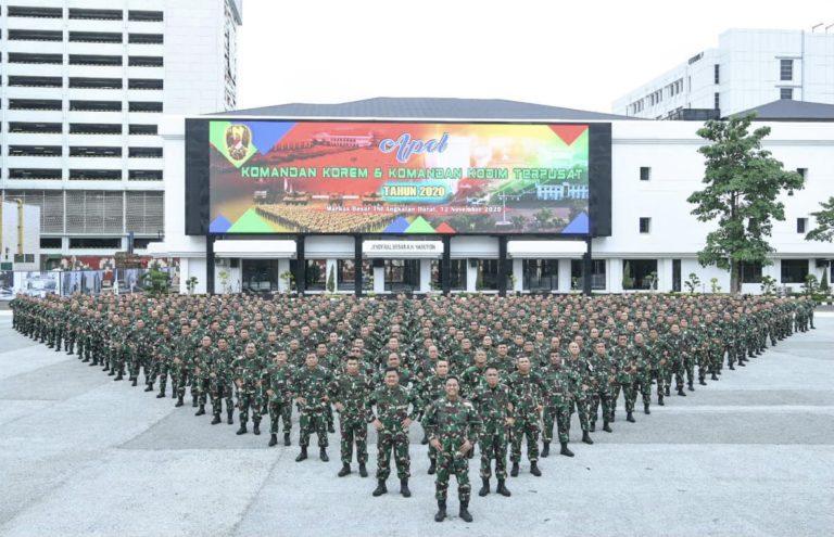 Kasad: Para Komandan Bertanggungjawab Atas Kondisi Anggota