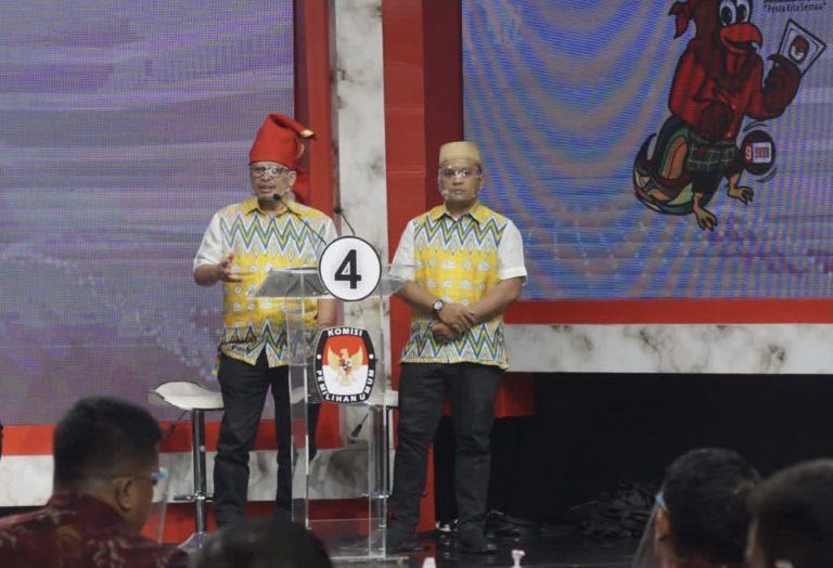 Tiga Kandidat Pilwalkot Makassar 2020 Saling Menjatuhkan, None Lebih Pilih Jelaskan Arti Reformasi Birokrasi