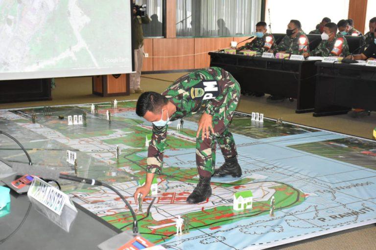 Kodam Kasuari Gelar TFG Latihan Pengamanan VVIP