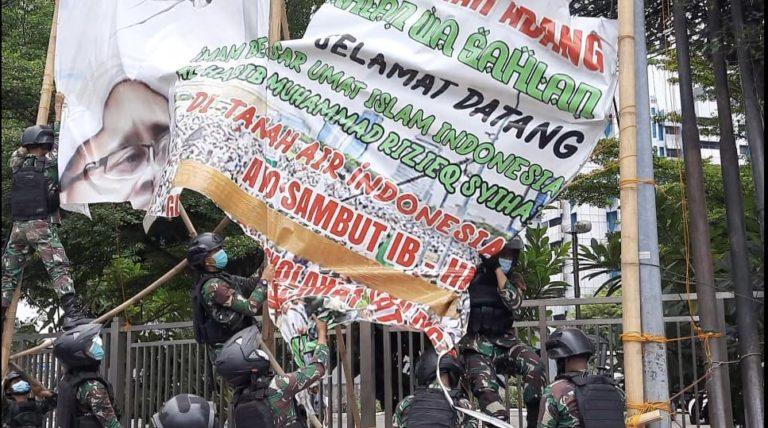 Copot Baliho Rizieq, Forum Satu Bangsa: Komitmen TNI terhadap Kebangsaan Harus Diapresiasi