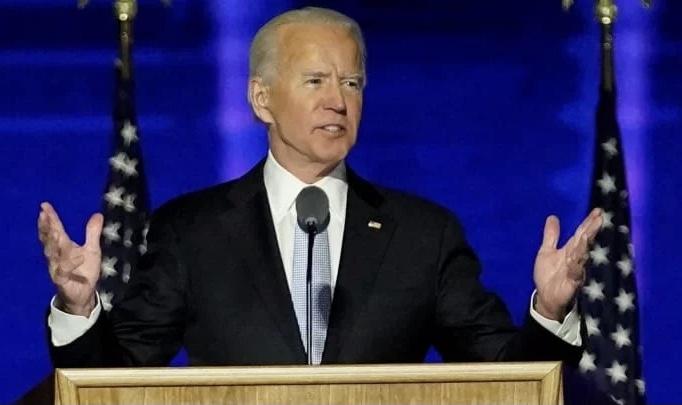 Dilantik sebagai Presiden, Joe Biden Bicara Harapan Baru