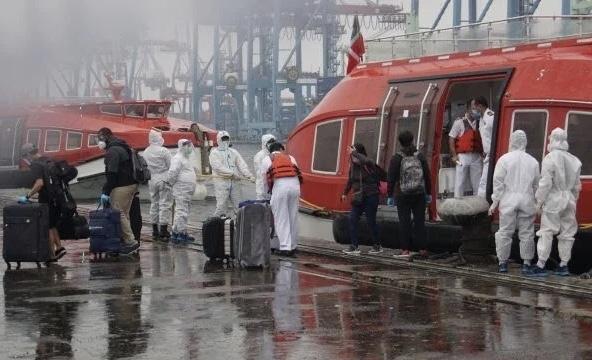 TNI AL Evakusi Medis ABK MV Norwegia Escape