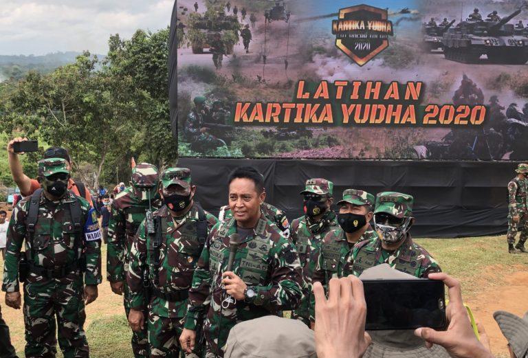 Latancab TNI AD 2020 Libatkan Sejumlah Alutsista Canggih