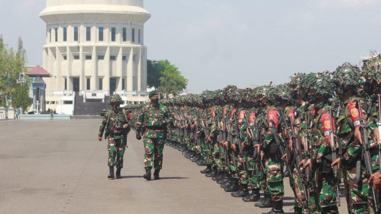 Hadapi Ancaman Negara Asing, TNI AD Kerahkan Ribuan Prajurit BTP ke Sumatera