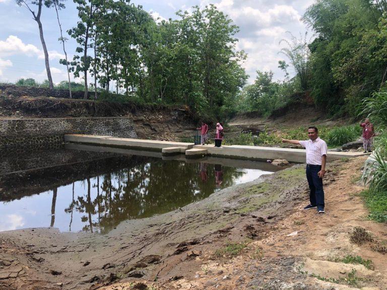 Dam Parit Meningkatkan Produktivitas Pertanian Gunung Kidul