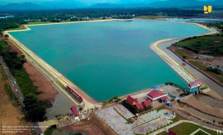 Kementerian PUPR Tuntaskan Pembangunan Kolam Regulasi Nipa-Nipa Kota Makassar