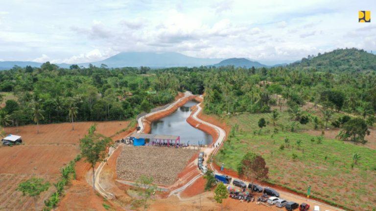 Kementerian PUPR selesaikan Embung Kamilin dan Gunung Raya di Pringsewu