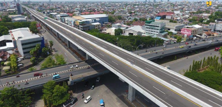 Siap Dioperasikan, Ini Penampakan Jalan Tol Layang AP Pettarani Makassar