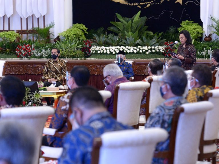 Presiden Jokowi Serahkan DIPA Kementerian PUPR Tahun 2021